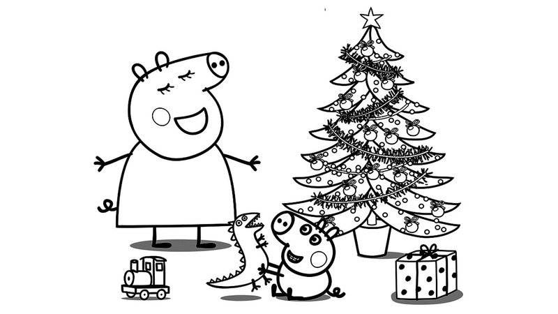 pig car coloring pages