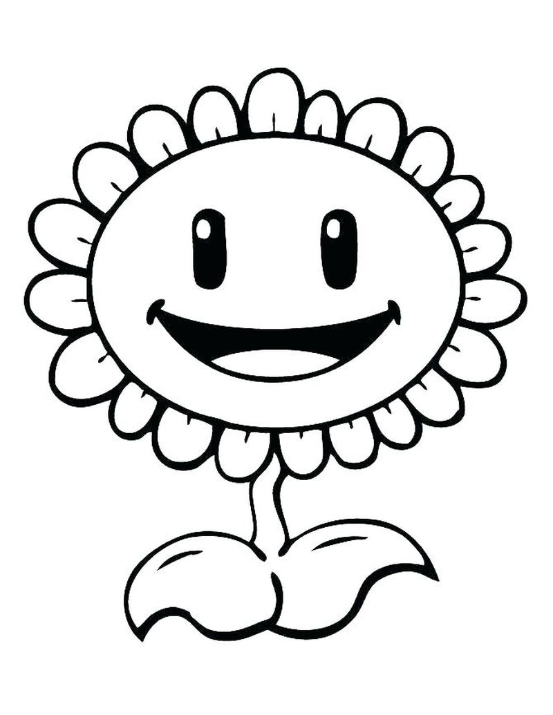 plants vs zombies battle for neighborville coloring pages