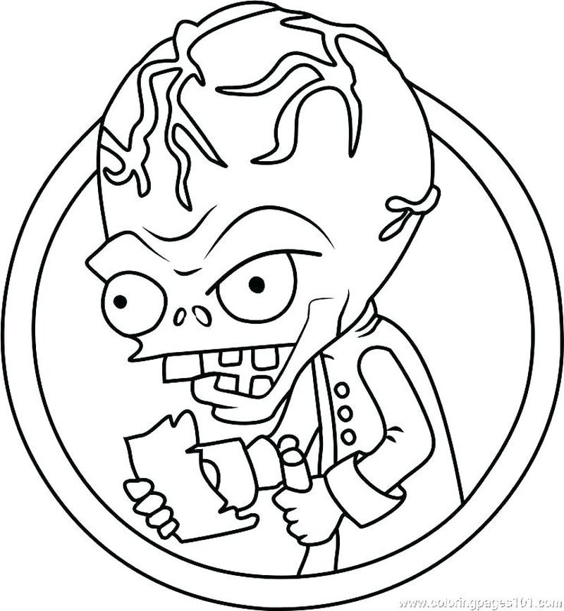 plants vs zombies coloring pages images