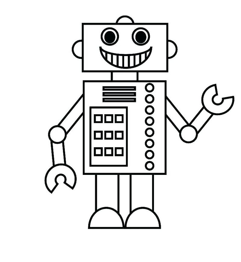 police car robot coloring pages