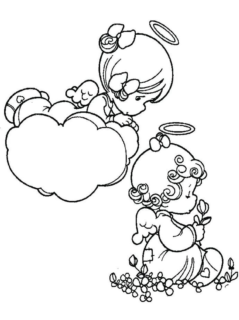 precious moments coloring page images