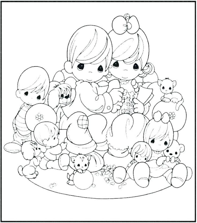 precious moments coloring pages pdf