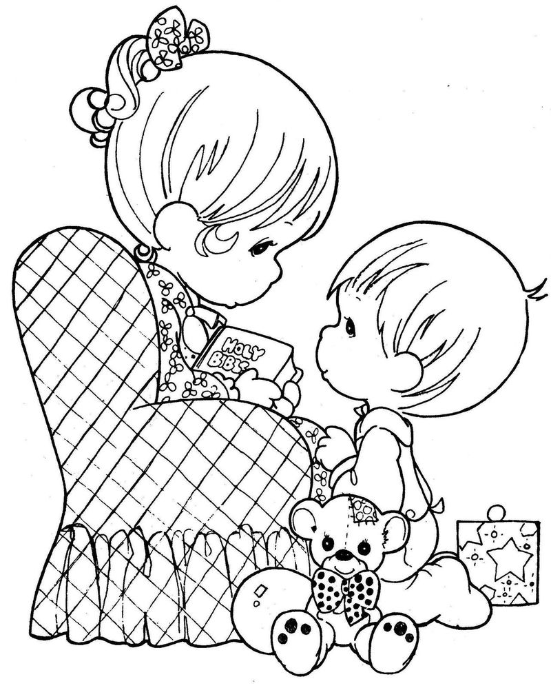 precious moments coloring pages to print for free