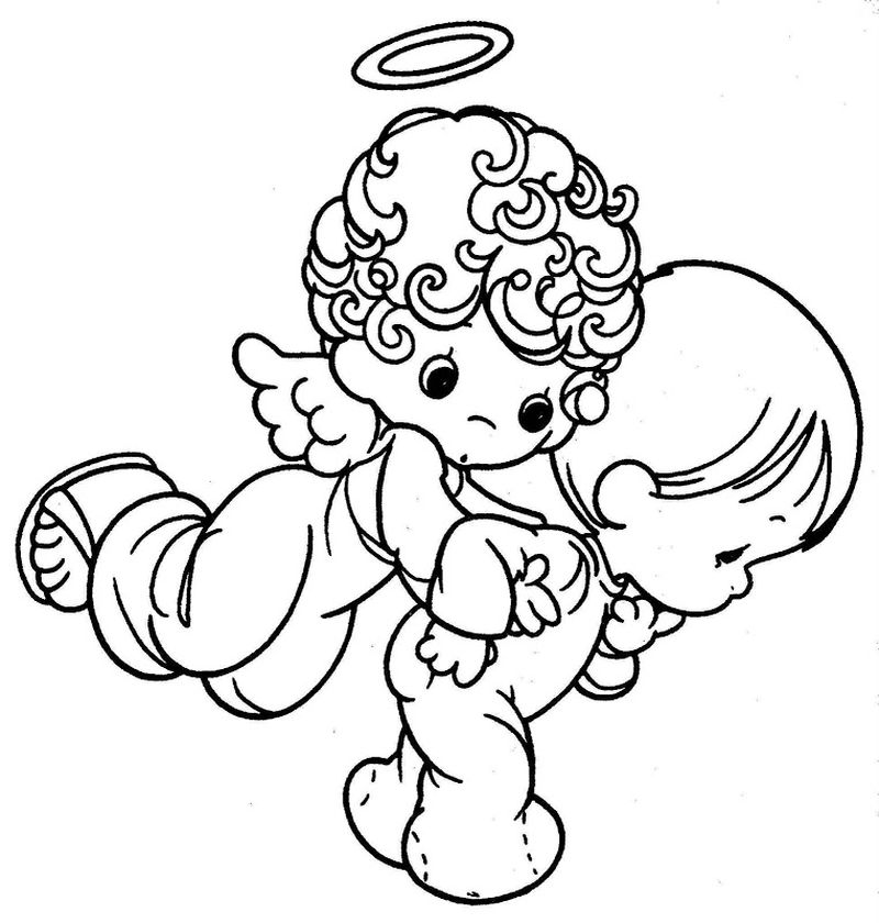 precious moments coloring pages to print
