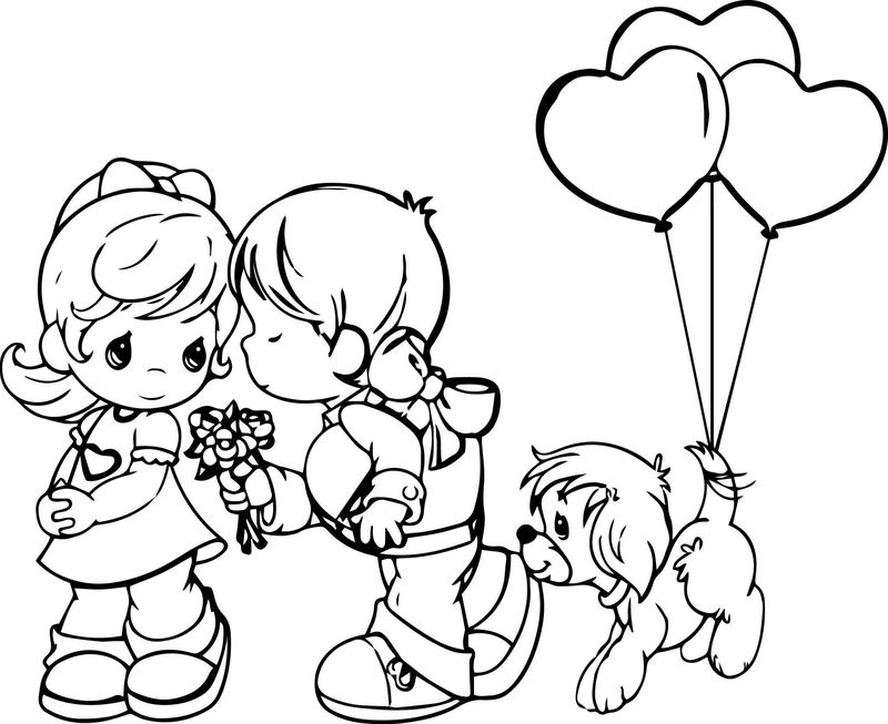 precious moments fall coloring pages