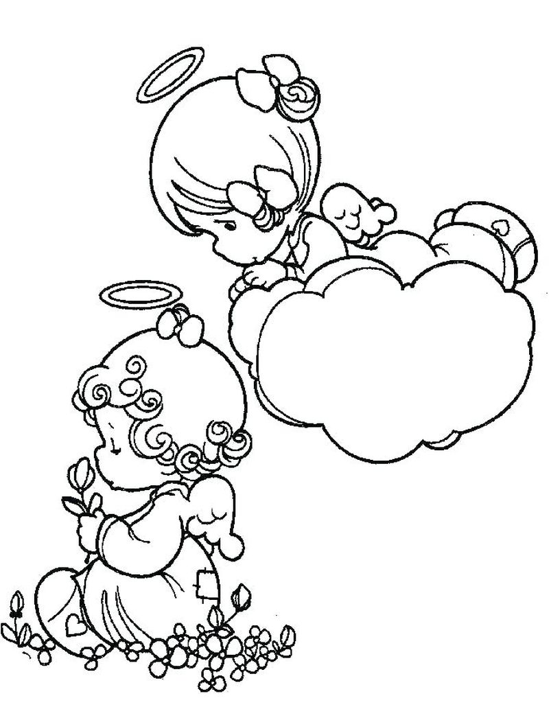 precious moments halloween coloring pages