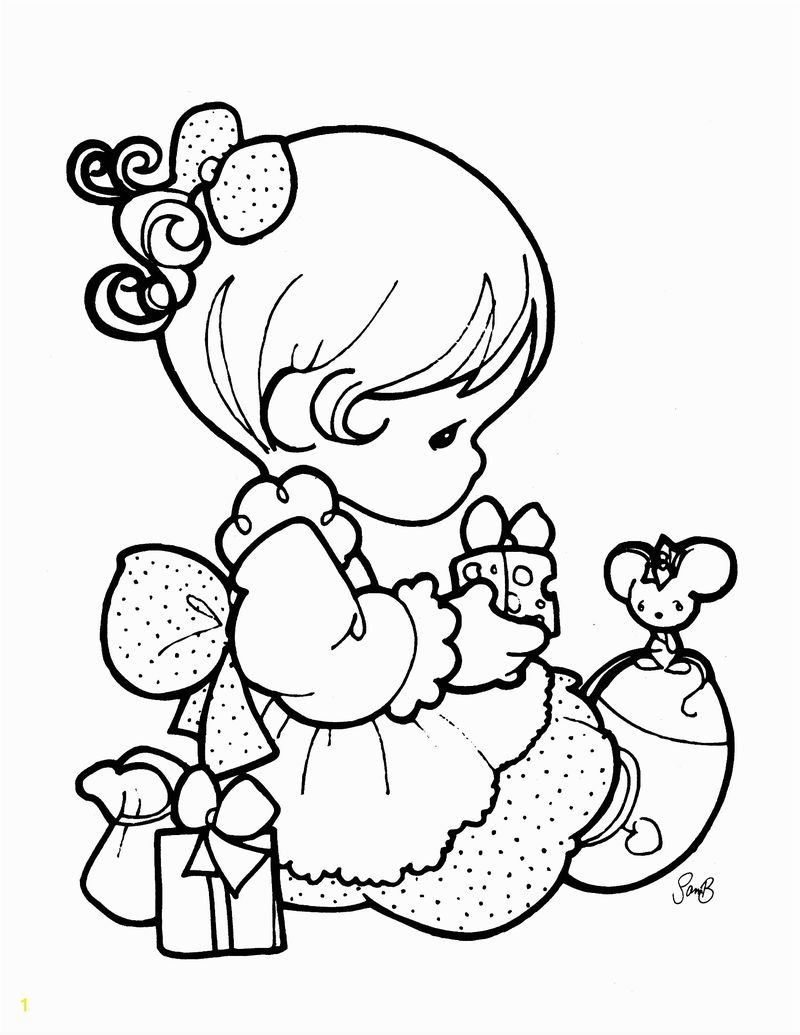 precious moments spring coloring pages
