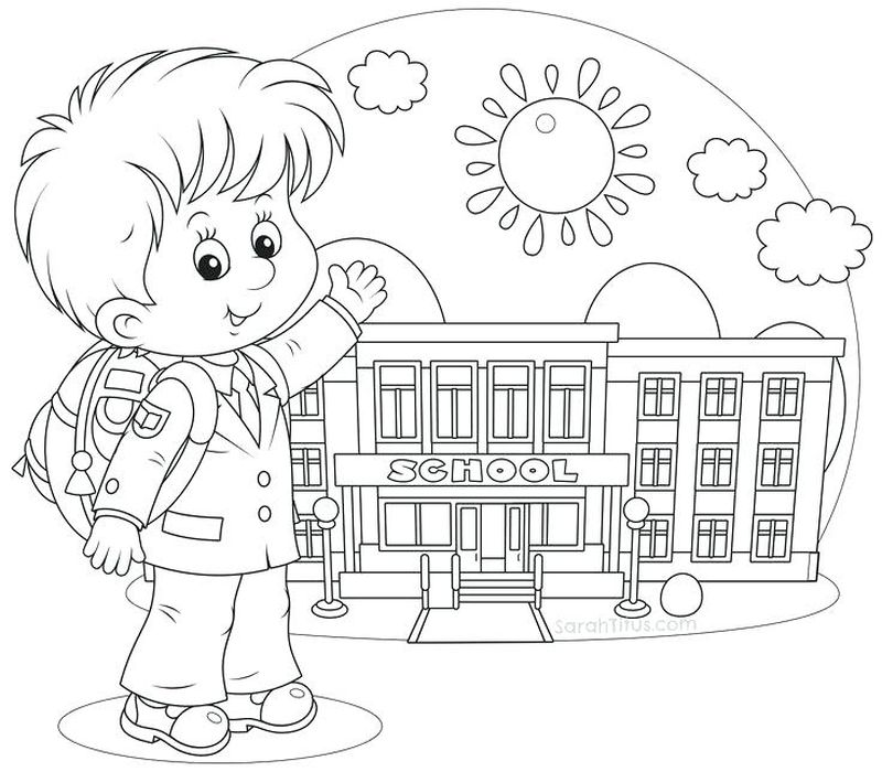 print back to school coloring page