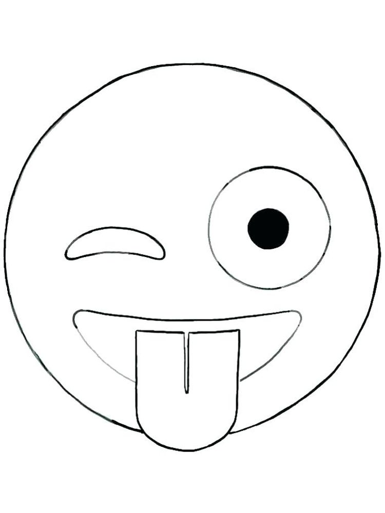 printable afraid face coloring page