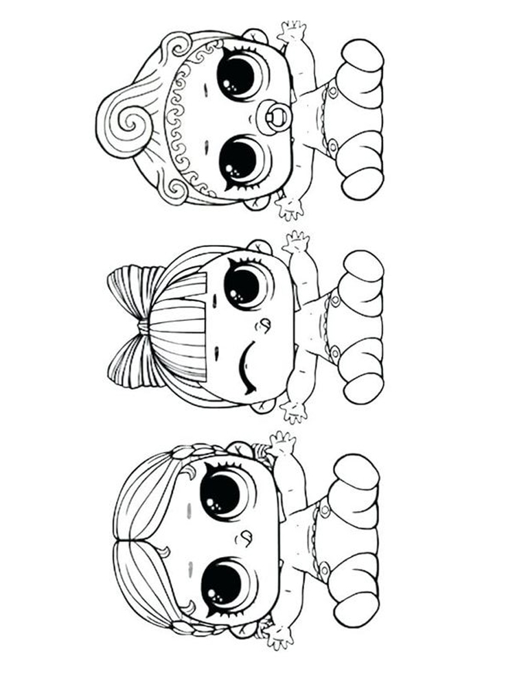 printable american doll coloring page