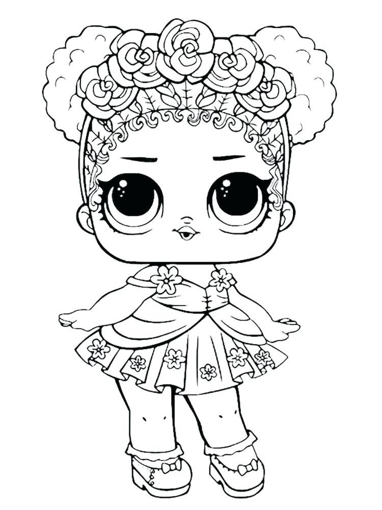 printable baby alive doll coloring page