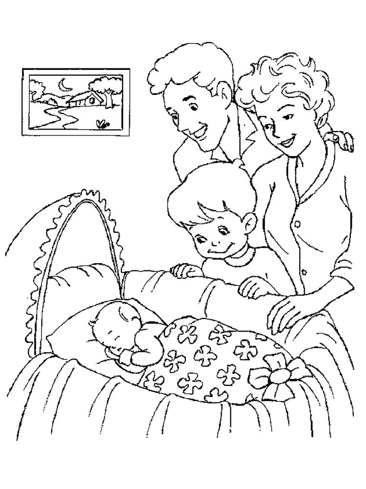 printable baby coloring pages free