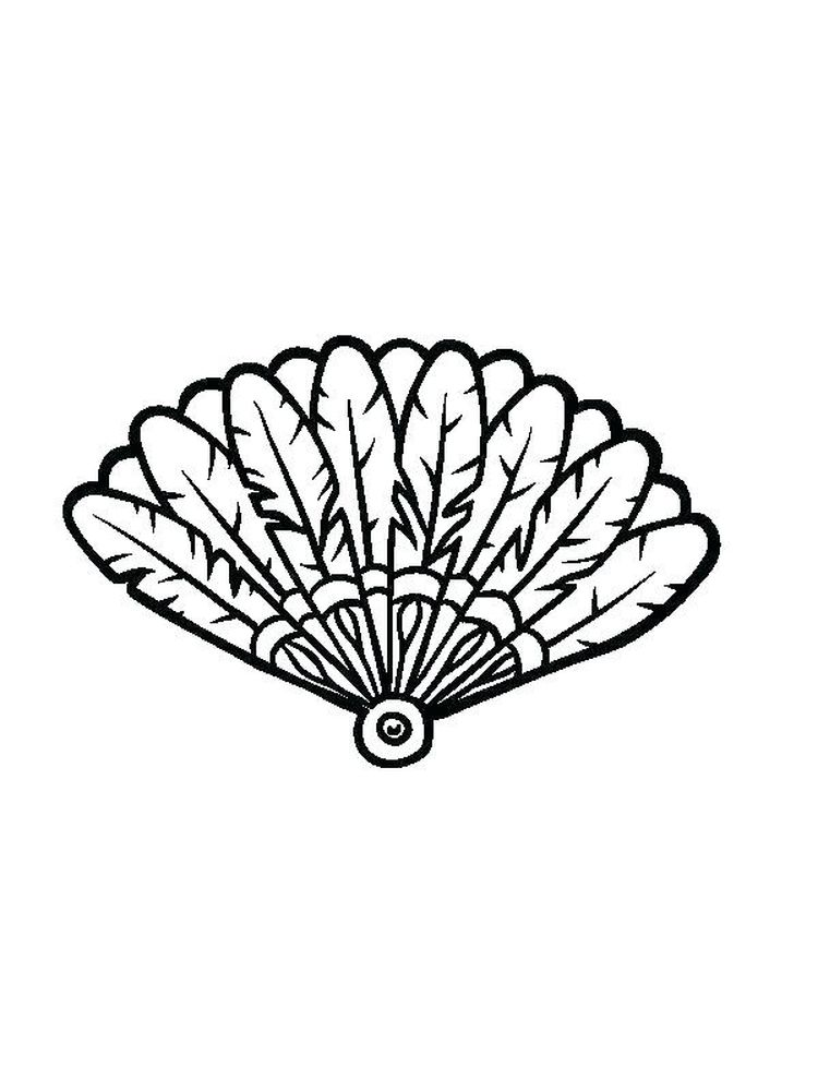 printable bird feather coloring pages