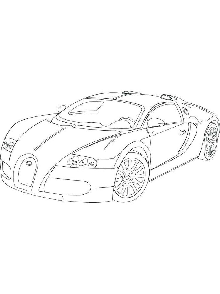 printable bugatti coloring pages for kids to print