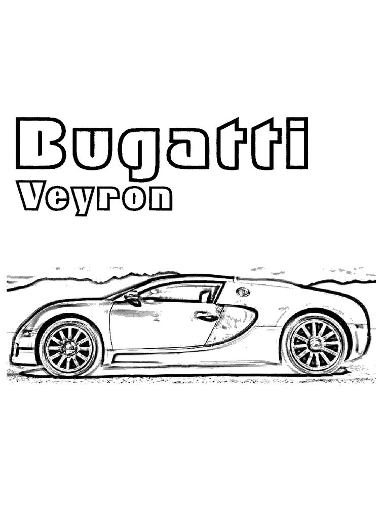 printable bugatti coloring pages to print