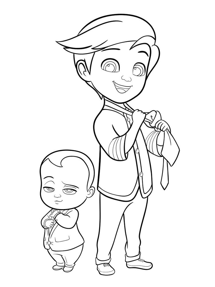 printable coloring pages baby free