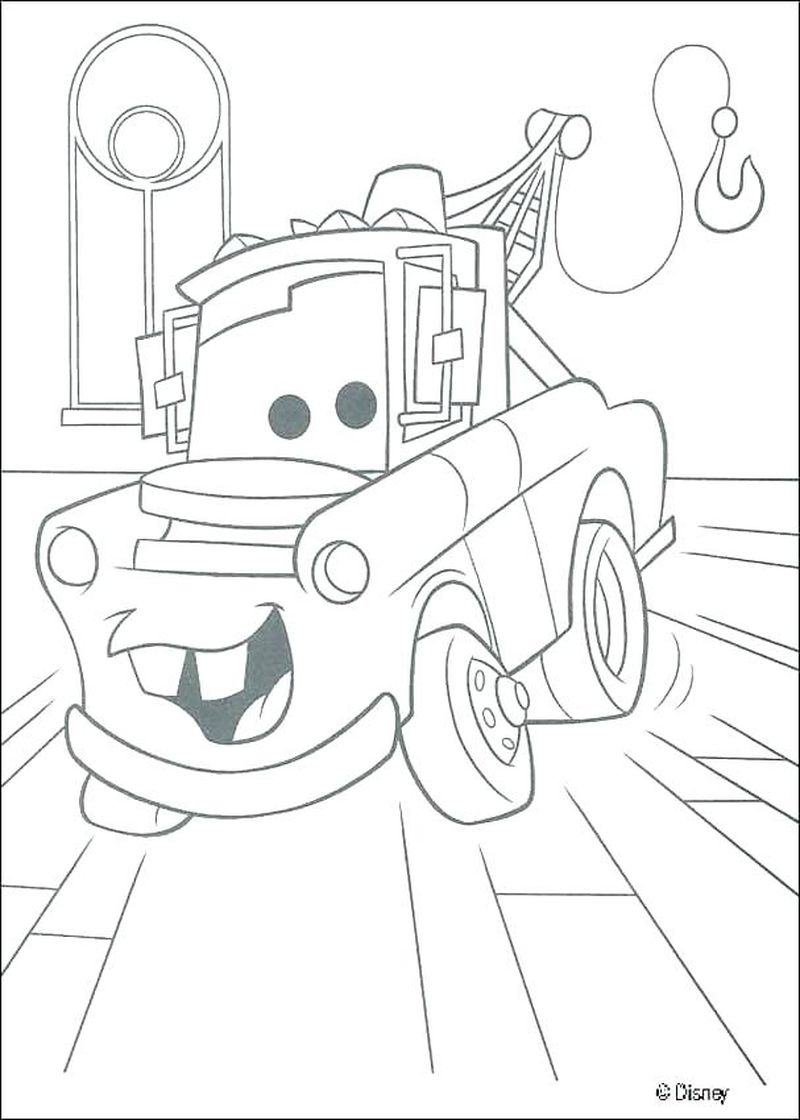 printable coloring pages cars free pdf