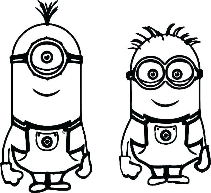 printable coloring pages minions despicable me