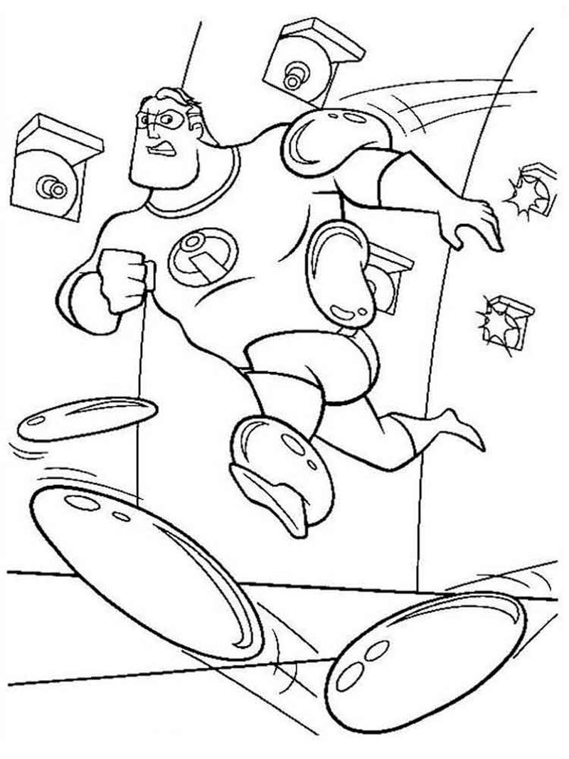 printable coloring pages of incredibles