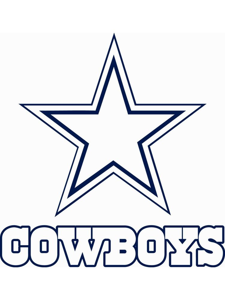 printable dallas cowboys coloring pages for kids