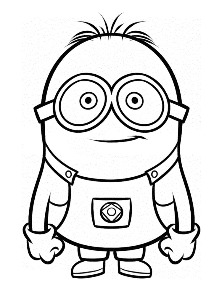 printable despicable me 3 coloring pages download