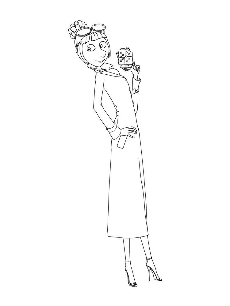 printable despicable me 3 coloring pages online