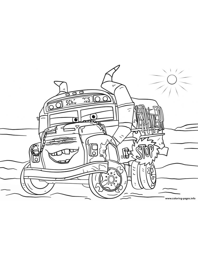 printable disney cars 3 coloring pages