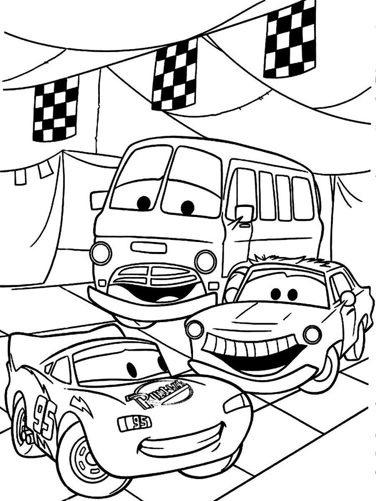 printable disney cars coloring pages free