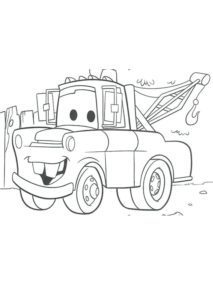 printable disney cars coloring pages pdf