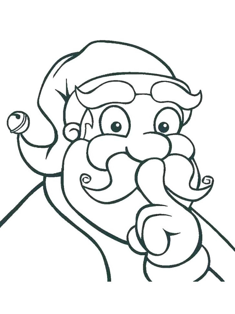 printable draw a face coloring page