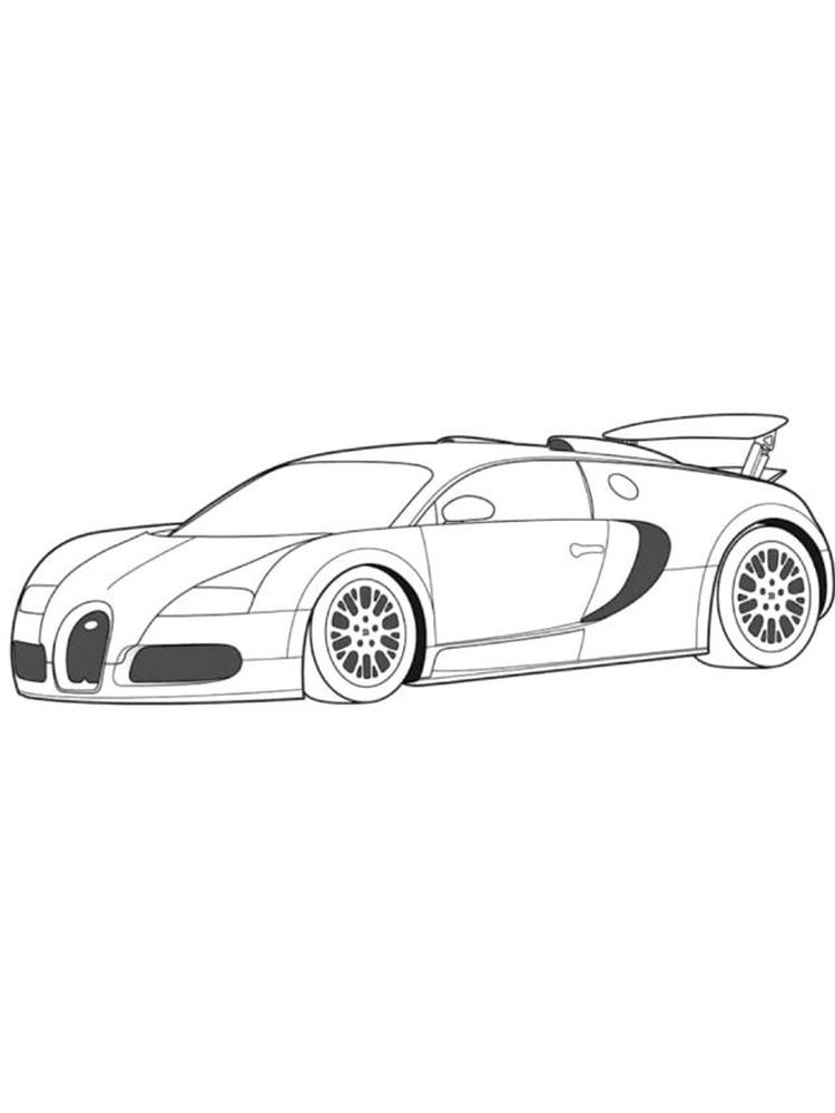printable free printable bugatti coloring pages