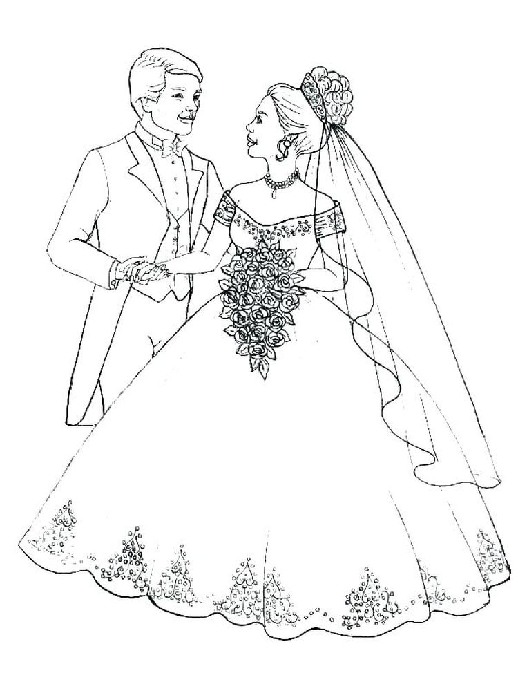 printable precious moments bride and groom coloring pages free