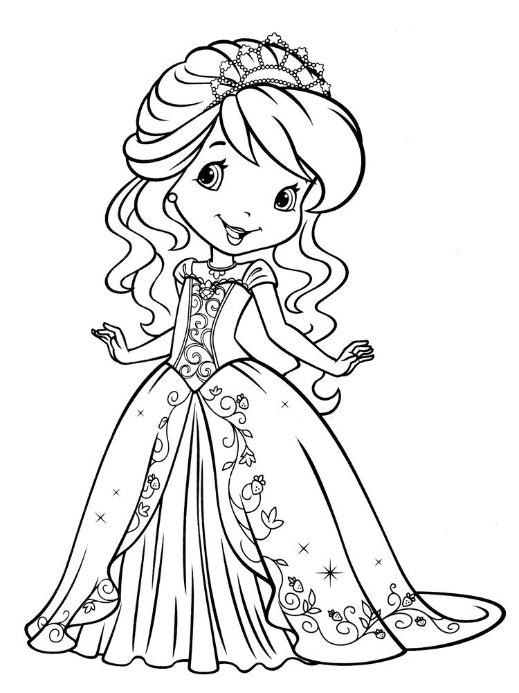 raggedy ann doll coloring page