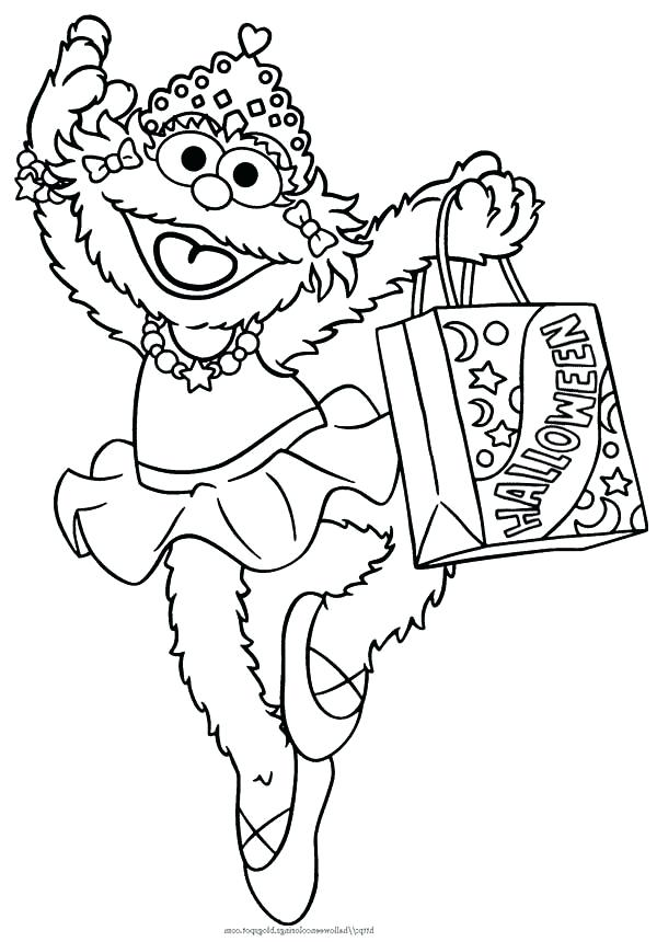 sesame street coloring pages muppet wiki