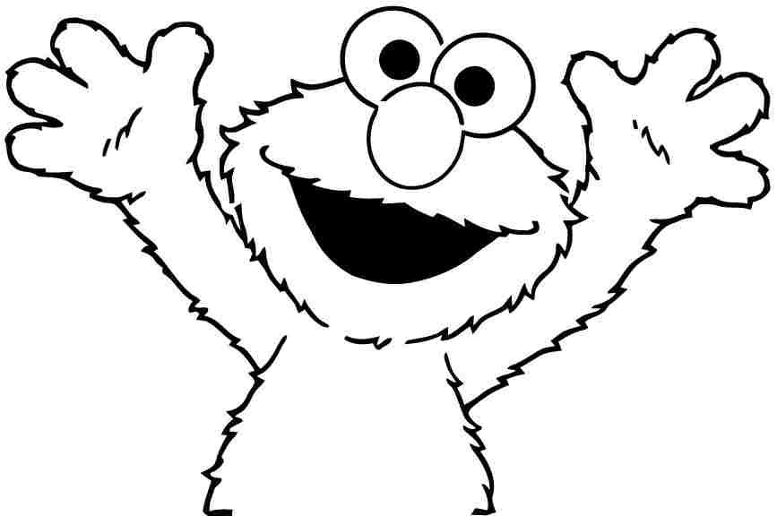 sesame street printable abc coloring pages