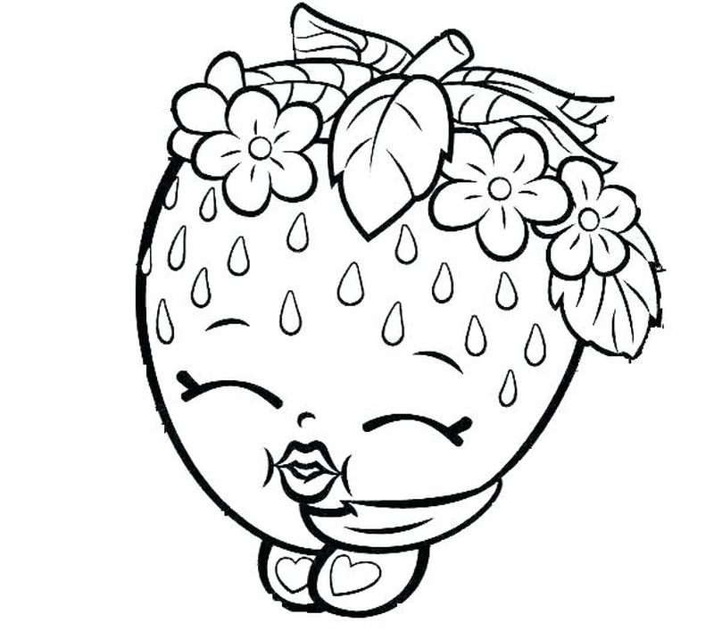 shopkin coloring pages for kids
