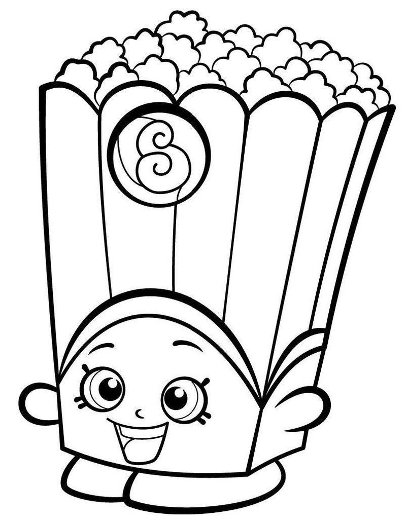 shopkin coloring pages free printable