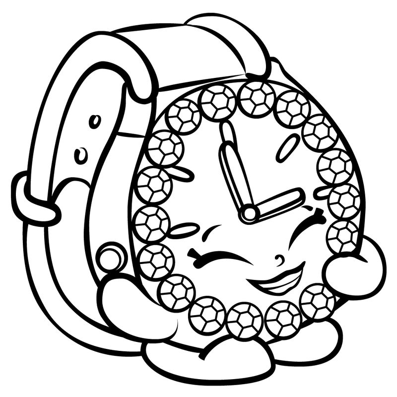 shopkin coloring pages printable
