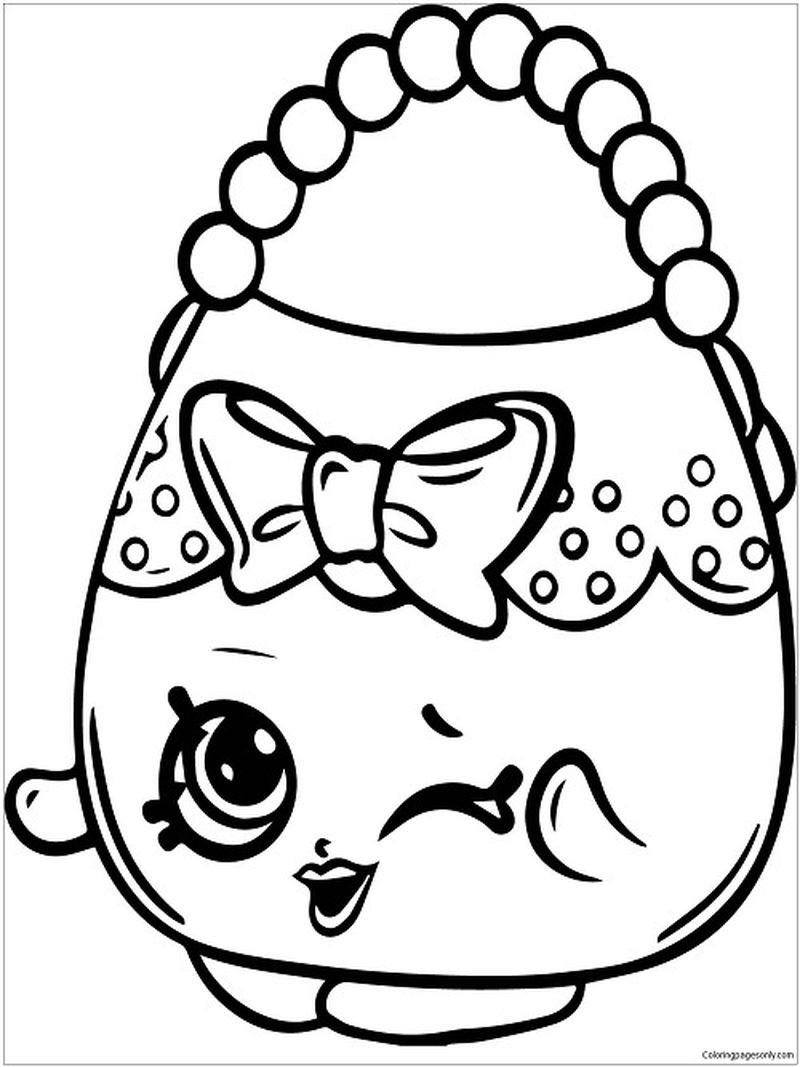 shopkin coloring pages printables