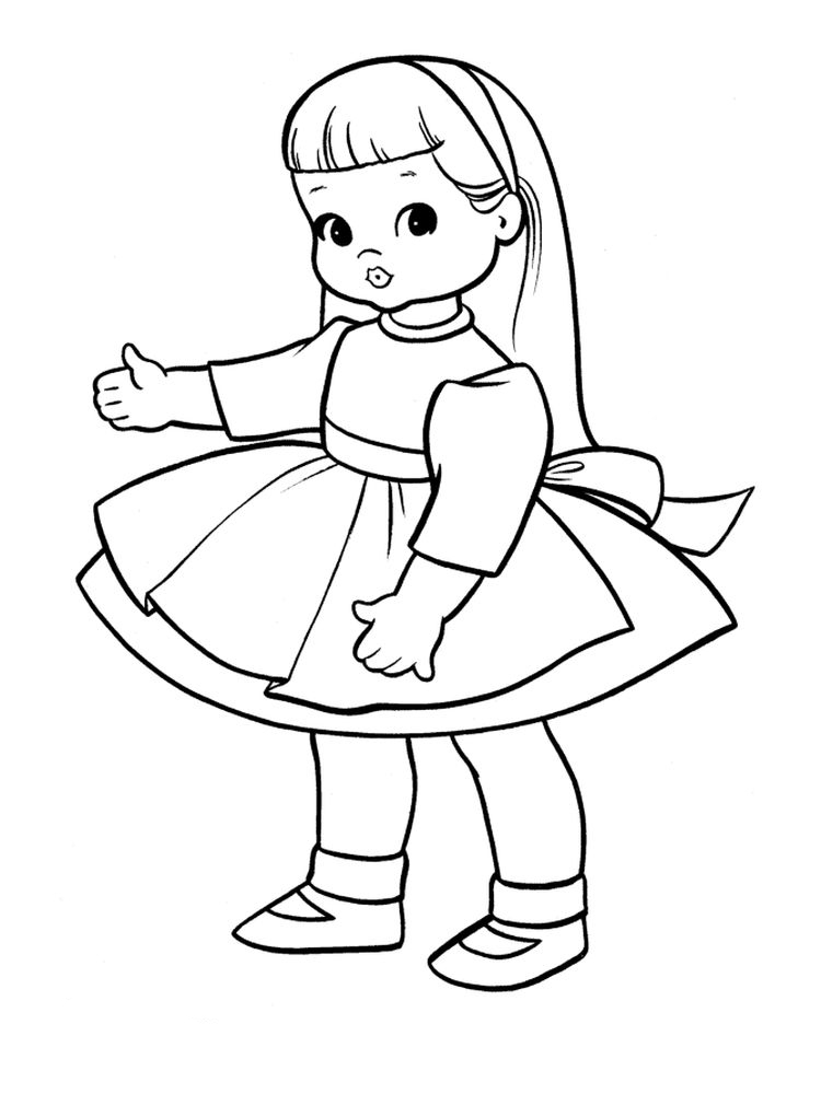 shoppie doll coloring pages
