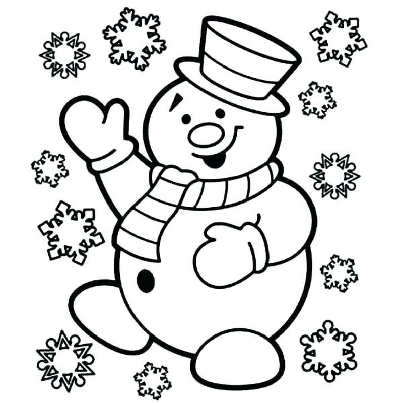 snowflake coloring pages for adults printable