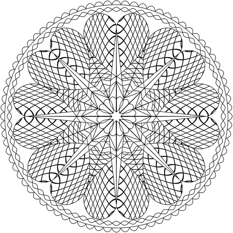 snowflakes coloring pages