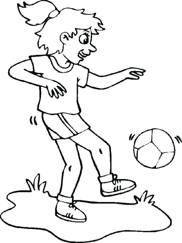 soccer ball coloring pages to print