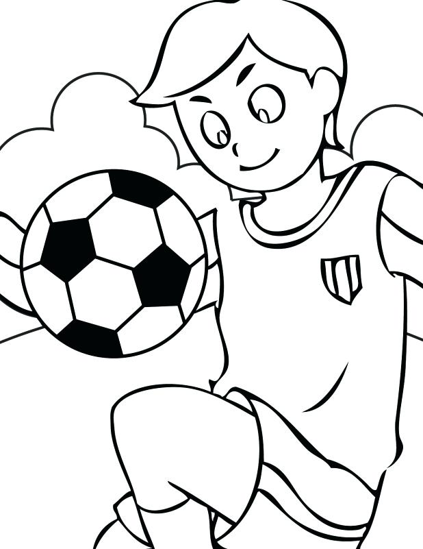 soccer club coloring pages