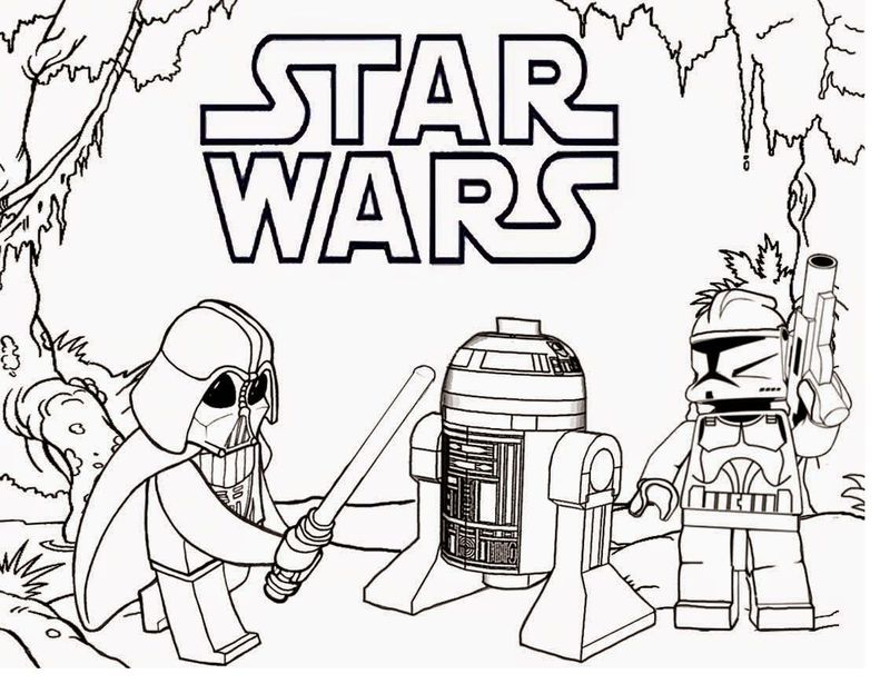 star wars coloring pages lego