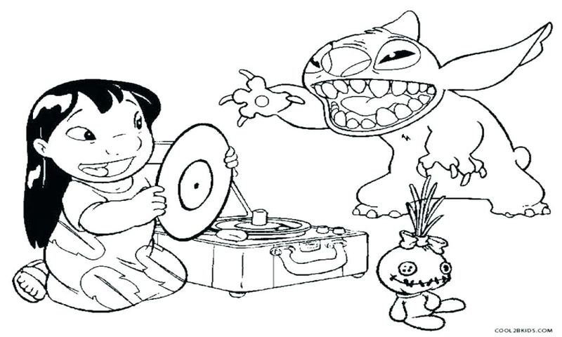 stitch and scrump coloring pages