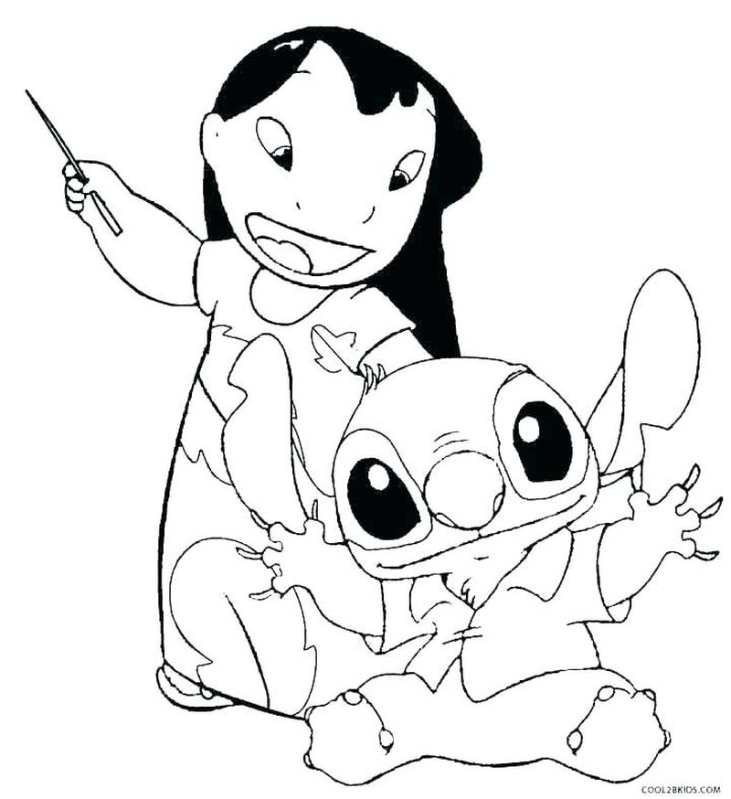 stitch coloring pages to print