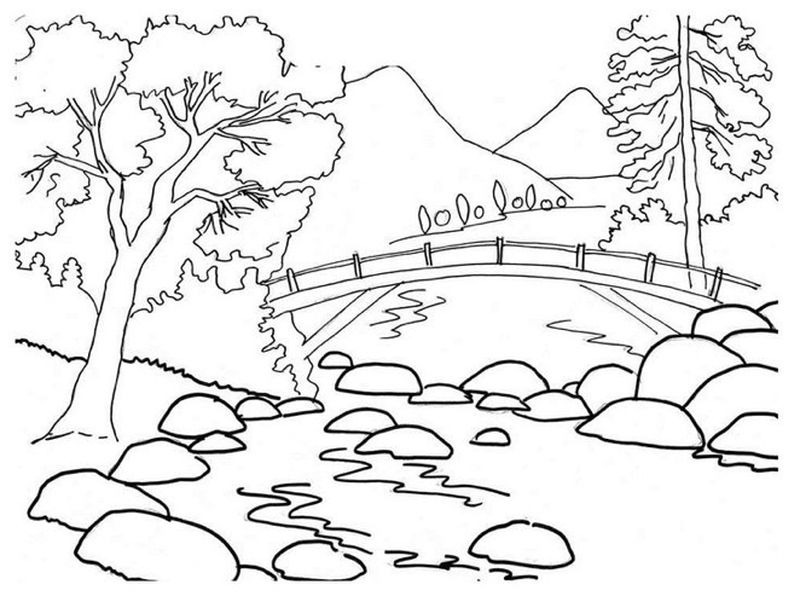 summer coloring pages kids