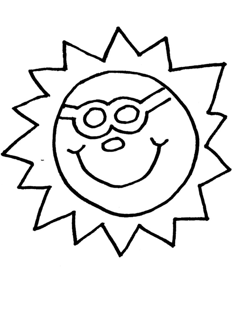 sun and moon coloring pages for toddlers