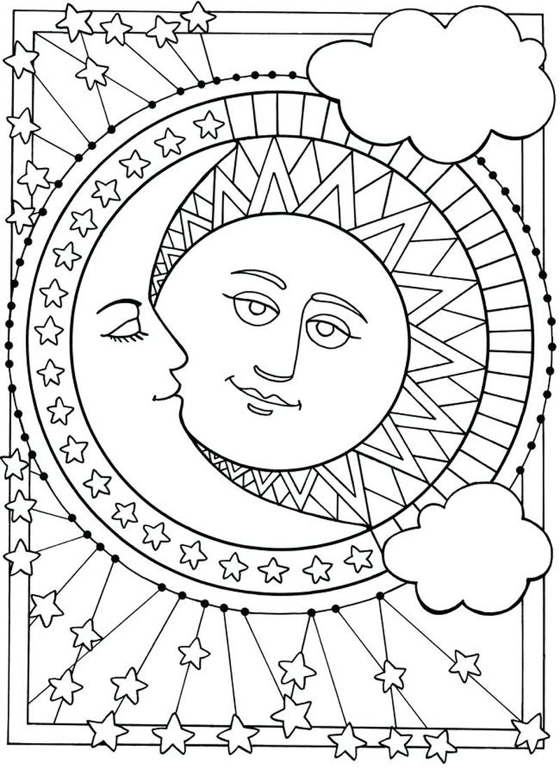 sun safety coloring pages